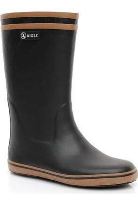Aigle Malouine Fur Kadın Siyah Yağmur Çizmesi 251794