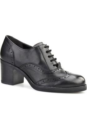 Cabani Topuklu Confort Günlük Kadın Ayakkabı Siyah
