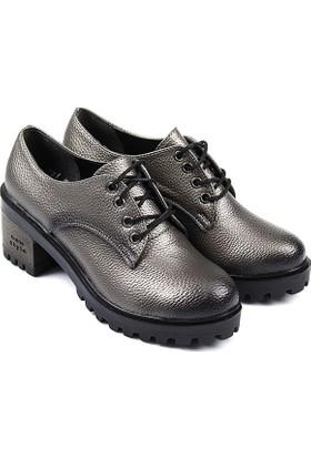 Gön Kadın Ayakkabı Füme 40106