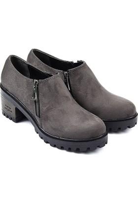 Gön Kadın Ayakkabı Gri 40203