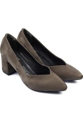 Gön Kadın Ayakkabı Yeşil 33772
