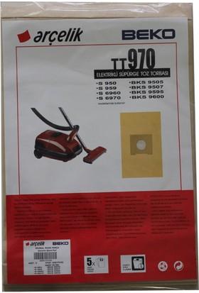Beko BKS 9505 Elektrikli Süpürge Uyumlu Kağıt Toz Torbası