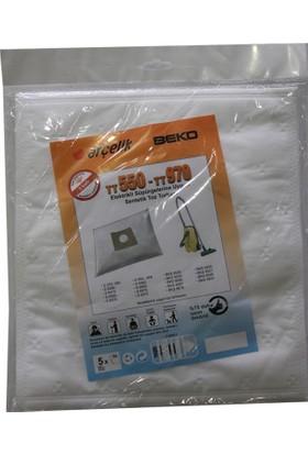 Beko BKS 9575 Elektrikli Süpürge Uyumlu Sentetik Toz Torbası