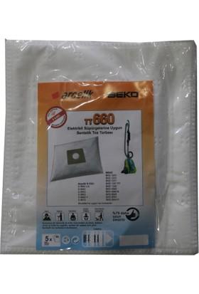Beko BKS 9540 Elektrikli Süpürgeye Uygun Sentetik Toz Torbası