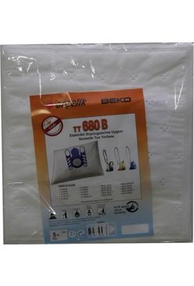Arçelik 6800 Elektrikli Süpürgeye Uygun Sentetik Toz Torbası