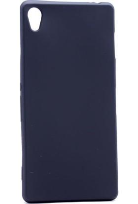 KNY Sony Xperia Z2 Kılıf Ultra İnce Mat Silikon+Cam