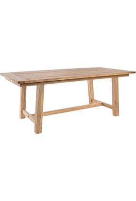 Masif Bahçe Masası Bodrum