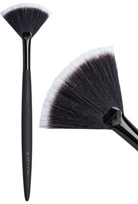 Avon Yelpaze Şeklinde Makyaj Fırçası