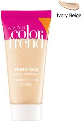 Avon Color Trend Fresh Face Likit Fondöten 30 Ml. Ivory Beige