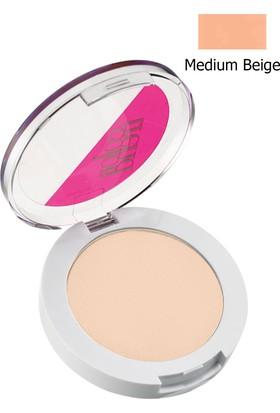 Avon Color Trend Sıkıştırılmış Pudra Medium Beige