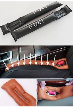 Simoni Racing Fiat Yazılı Deri Koltuk Konsol Arası Boşluk Kapatıcı 106101