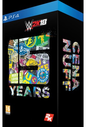 Ps4 Wwe 2K18 Collectors Edition - 15Th Years Cena Nuff (Sony Eurasia)