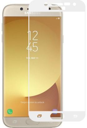 Microsonic Samsung Galaxy J7 Pro Tam Kaplayan Temperli Cam Ekran koruyucu Film