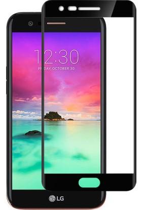 Microsonic LG K10 2017 Tam Kaplayan Temperli Cam Ekran koruyucu Film