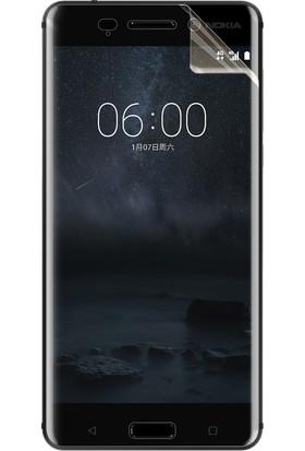 Microsonic Nokia 6 Kavisler Dahil Tam Ekran Kaplayıcı Şeffaf Koruyucu Film