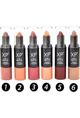 Xp 2 In 1 Matte Lipstick&Lipgloss 02