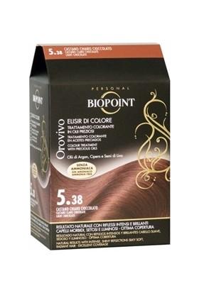 Biopoint Orovivo Saç Boyası 5.38 Açık Çikolata