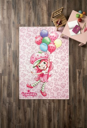 No Name Strawberry Shortcake Ballons Halı