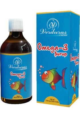 Verduras Omega 3 Balık Yağı Şurubu 150 Ml Ocean B.