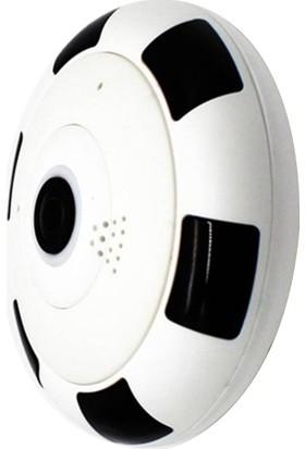 Taipien As-3602 Panoramik Tavan Kamerası 1080P, 360 Derece P2P, Kayıt, Alarm, Wıfı, Ir, Kamera