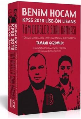 2018 Kpss Lise Ön Lisans Genel Kültür Genel Yetenek Tamamı Çözümlü Soru Bankası Benim Hocam Yayınları