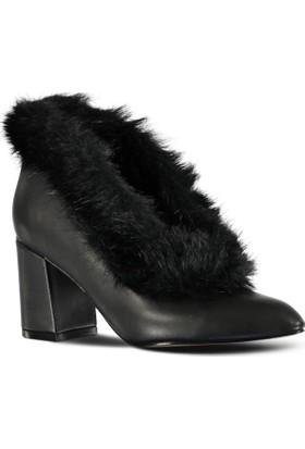 Marjin Tekso Topuklu Ayakkabı Siyah