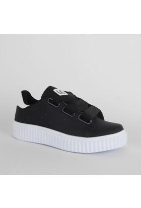 Black Sea 499 Bayan Günlük Ayakkabı Siyah