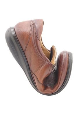 Fancy Ortopedik Taba Diyabetik Erkek Ayakkabı