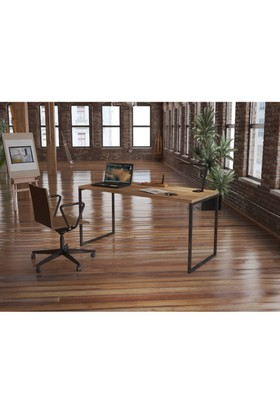 Endustriyel Mobilya Kivi Çalışma Masası 150 cm