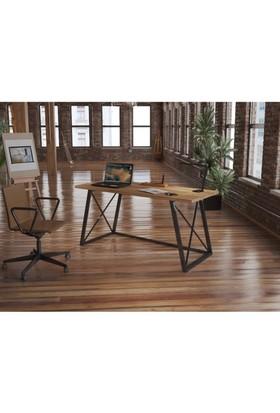 Endustriyel Mobilya Pendula Çalışma Masası 150 cm