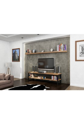 Endustriyel Mobilya Defne Tv Ünitesi 180Cm