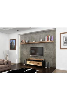 Endustriyel Mobilya Sandal TV Ünitesi 140 cm