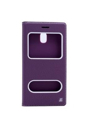 Teleplus Samsung Galaxy J3 Pro Çift Pencereli Kılıf + Cam Ekran Koruyucu