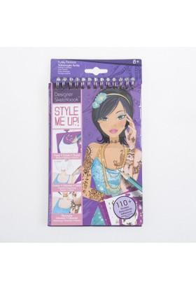 Style Me Up Moda Dövmeler Mini Tasarım Defteri