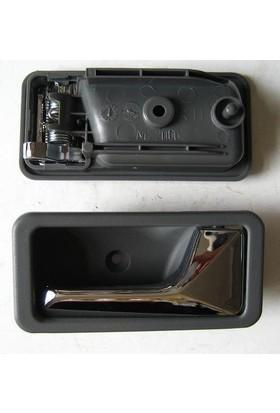 Mazda 626 İç Kapı Kolu Sağ Krom Gri 1988 - 1992 H260-72-330A