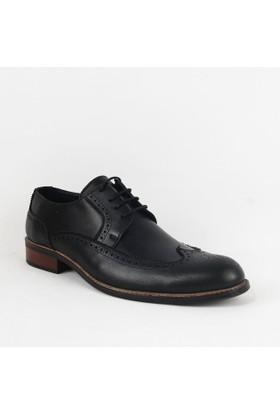Armanc 354 Erkek Bağcıklı Klasik Ayakkabı Siyah
