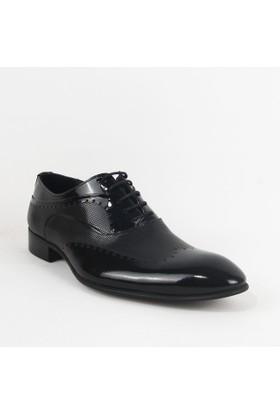 Armanc 355 Erkek Bağcıklı Klasik Ayakkabı Siyah