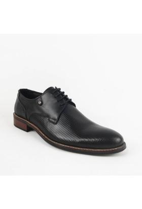 Armanc 356 Erkek Bağcıklı Klasik Ayakkabı Siyah