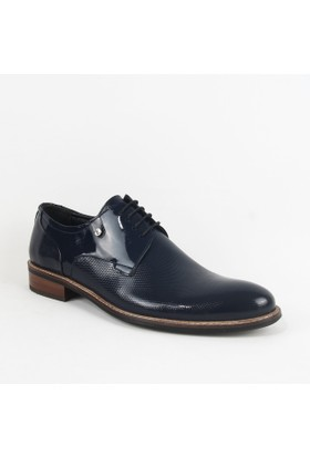 Armanc 357 Erkek Bağcıklı Klasik Ayakkabı Lacivert