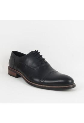 Armanc 358 Erkek Bağcıklı Klasik Ayakkabı Siyah