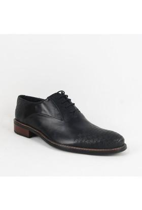 Armanc 360 Erkek Bağcıklı Klasik Ayakkabı Siyah