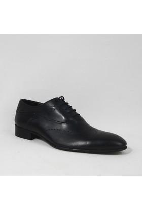 Armanc 368 Erkek Bağcıklı Klasik Ayakkabı Siyah