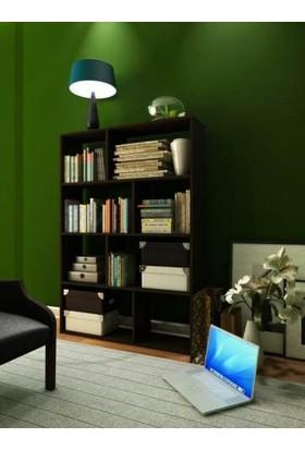 Hepsiburada Home Plaid Kitaplık Wenge