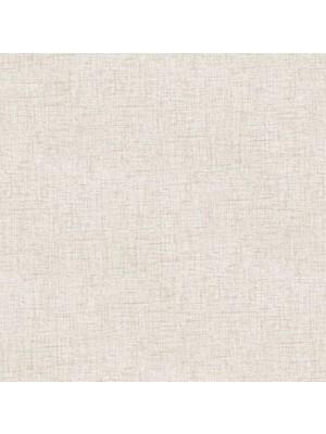 Krem Düz Çizgili Duvar Kağıdı Simli 16811