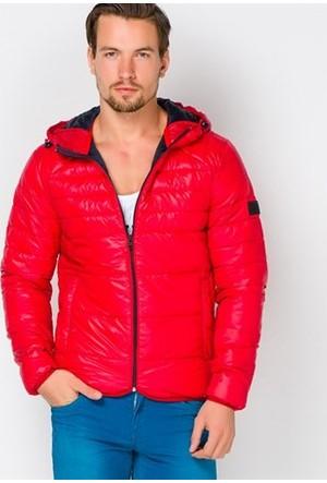 Jack & Jones Kırmızı Baron Puffer Mont 12095453
