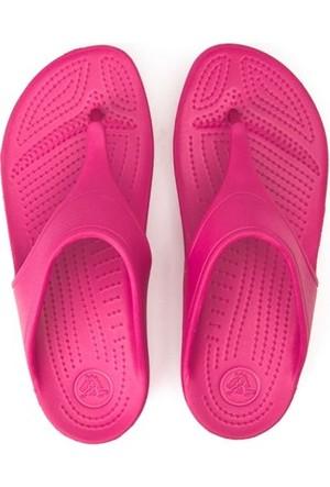 Crocs Pembe Terlik Sloane Platform Flip W P025439
