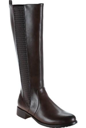 Polaris 52.156260.Z Kahverengi Kadın Çizme