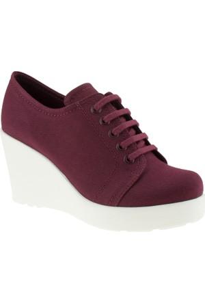 Greyder 5675 Zn Casual Bordo Kadın Ayakkabı