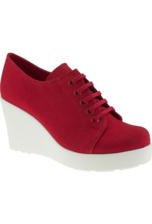 Greyder 5675 Zn Casual Kırmızı Kadın Ayakkabı