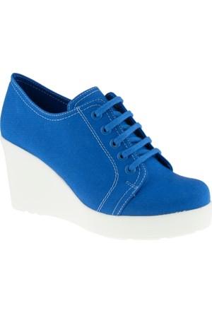 Greyder 5675 Zn Casual Mavi Kadın Ayakkabı